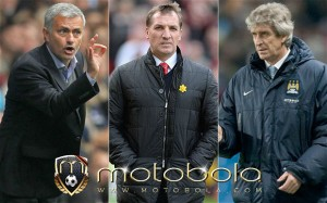 Brendan Rodgers and Pellegrini and Mourinho