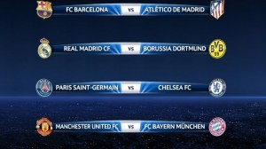 Draw perempat final Champion League 2014