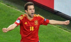 Jordi Alba of Spain